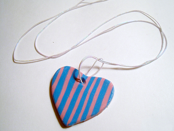 Add Jewelry Cord To Heart Pendant Necklaces