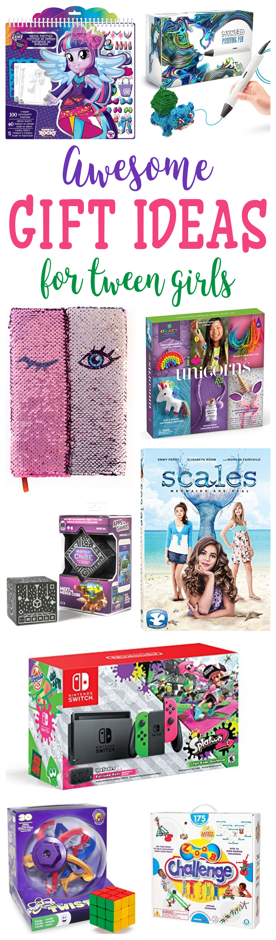 Gift Ideas For Tween Girls - 2018 Gift Guide