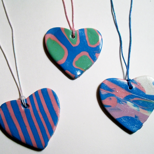 How To Make Heart Pendant Necklaces