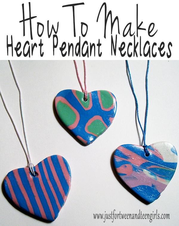 How to make heart pendant necklaces omg gift emporium how to make heart pendant necklaces mozeypictures Images