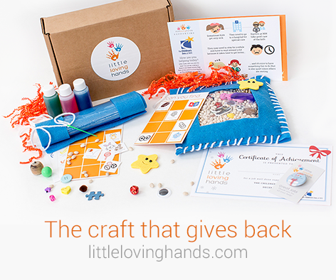 Charitable Giving Craft Box For Kids