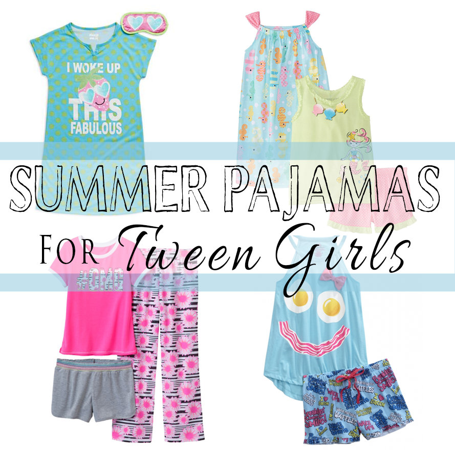 Summer Pajamas For Tween Girls