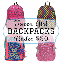 Tween Girl Backpacks