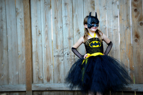 Batman Batgirl Tutu Dress