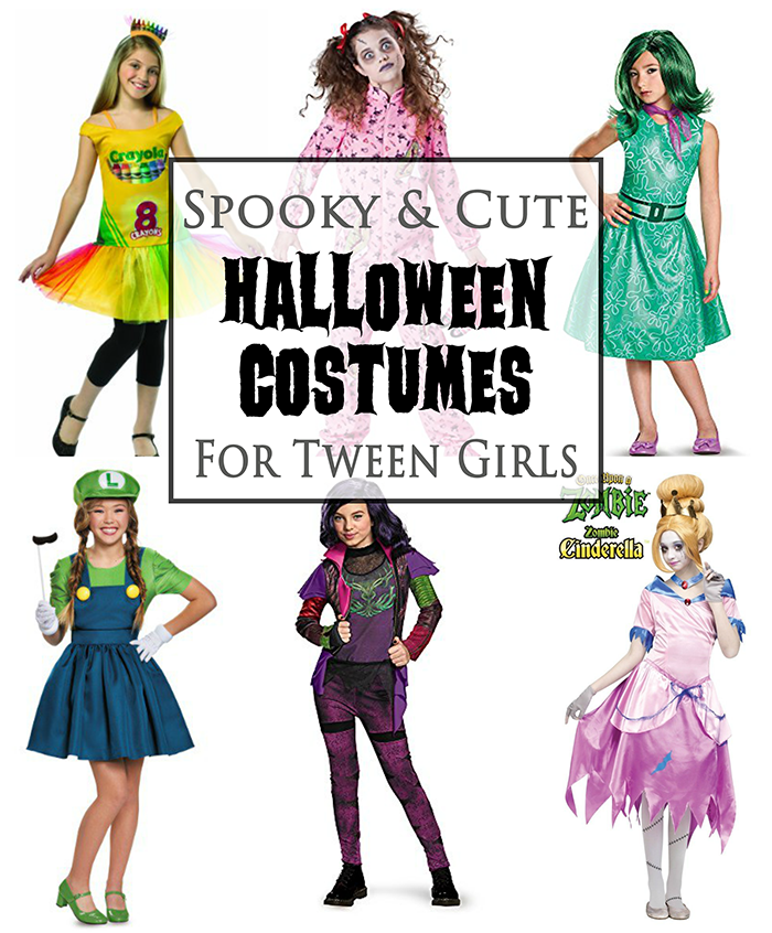 Spooky And Cute Halloween Costumes Tween Girls That Are Both Kid And Parent Approved