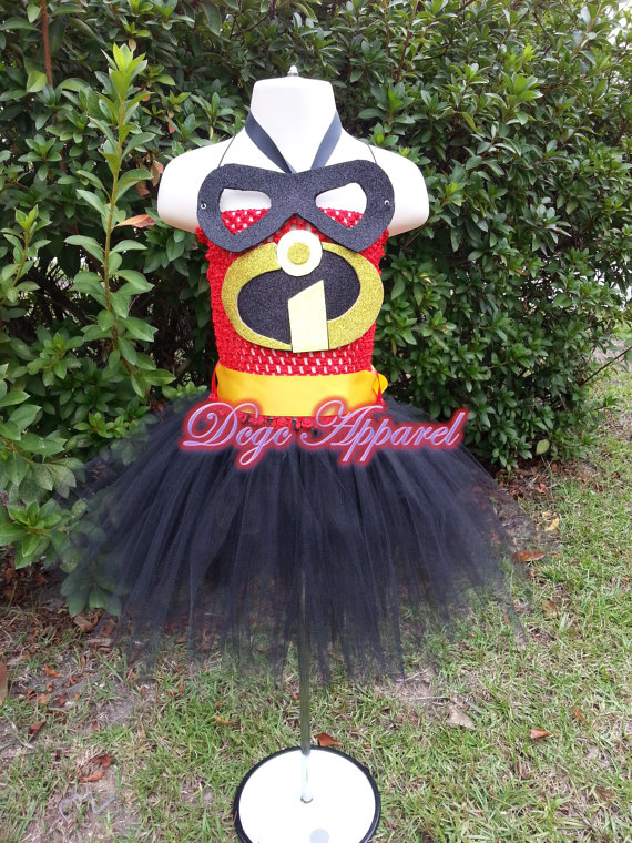 The Incredibles Tutu Dress