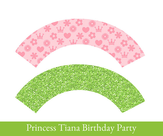 Princess And The Frog Cupcake Wrappers