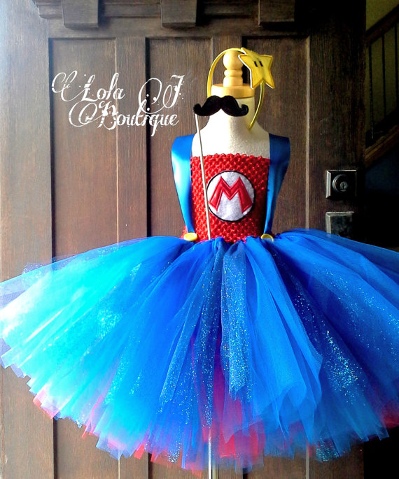 Super Mario Brothers Tutu Dress