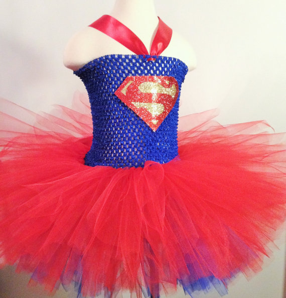 Superman Tutu Dress