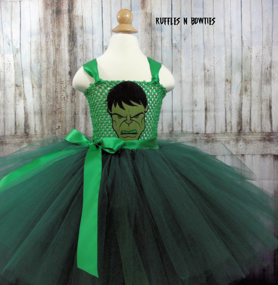 The Incredible Hulk Tutu Dress