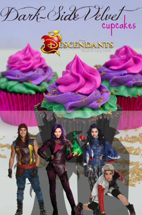 20 Wicked Disney Descendants Crafts And Recipes Glitter N Spice