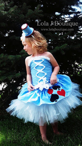 Alice In Wonderland Mad Hatter Tea Party Tutu Dress