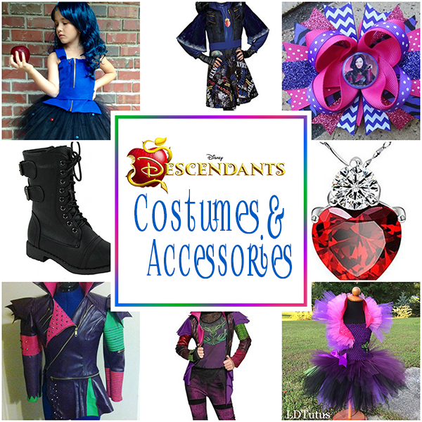 sc 1 st  OMG! Gift Emporium & Disney Descendants Costumes And Accessories | OMG! Gift Emporium