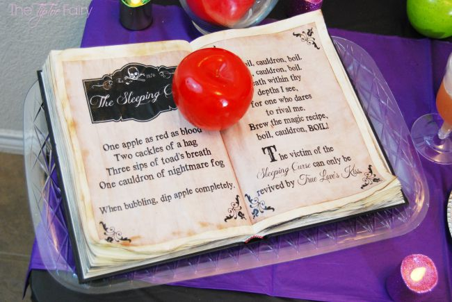Disney Descendants DIY Mal Spell Book