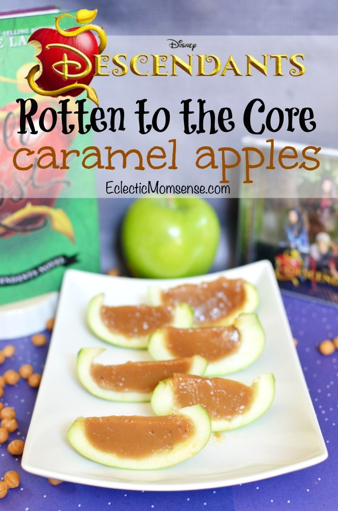 Rotten To The Core Caramel Apples