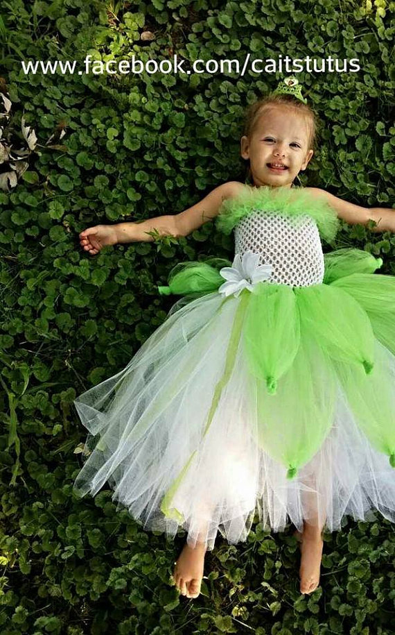 Princess And The Frog Tiana Tutu Dress