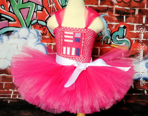 Princess Darth Vader Tutu Dress