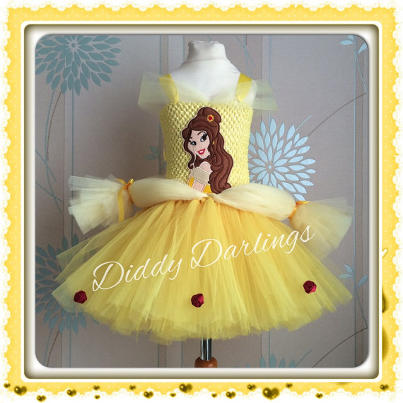 Beauty And The Beast Princess Belle Tutu Dress