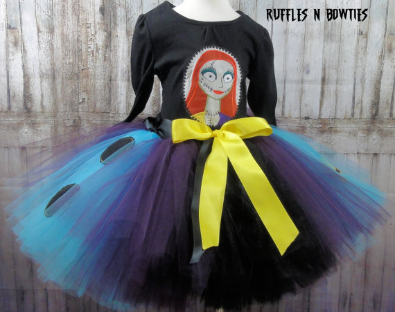 Sally Nightmare Before Christmas Tutu Dress