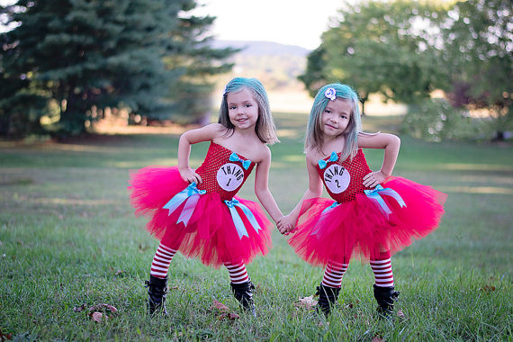 Thing 1 And Thing 2 Tutu Dresses