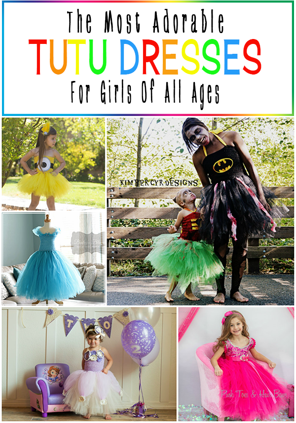 The Most Adorable Character Tutu Dresses For Girls