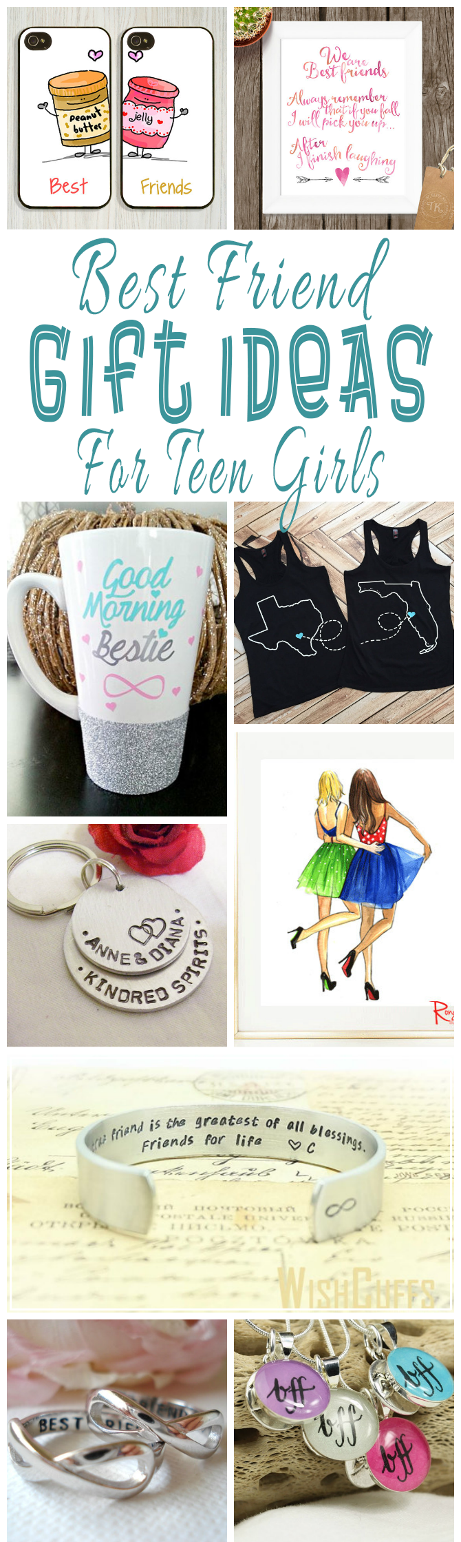 Best Friend Gift Ideas For Teens