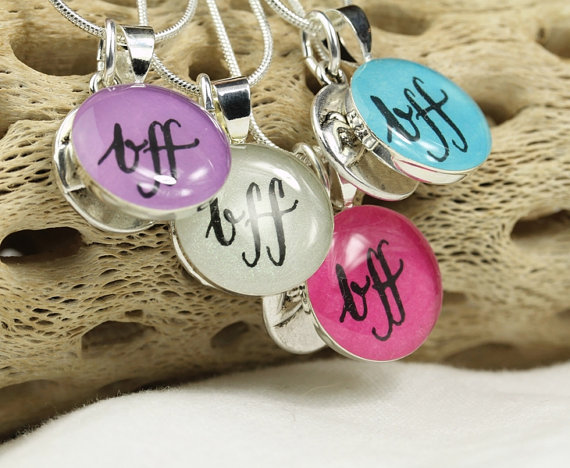 Best Friend Pinky Promise Necklaces
