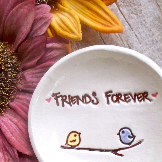 Best Friends Ceramic Ring Bowl
