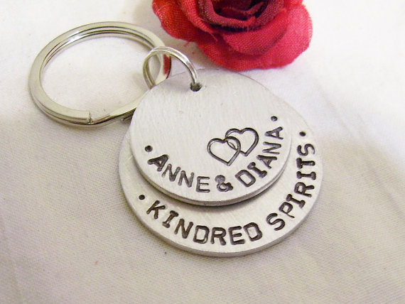 Kindred Spirits Best Friend Key Chains