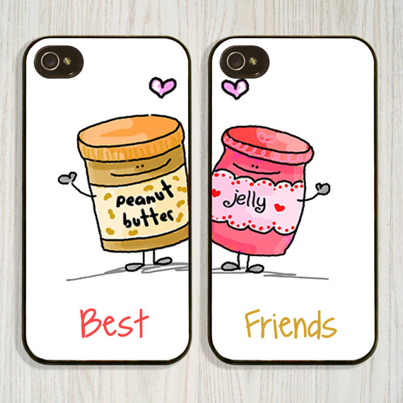 Peanut Butter And Jelly Best Friend Cell Phone Cases