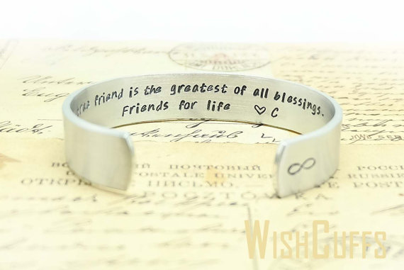 Personalized Best Friend Bracelet