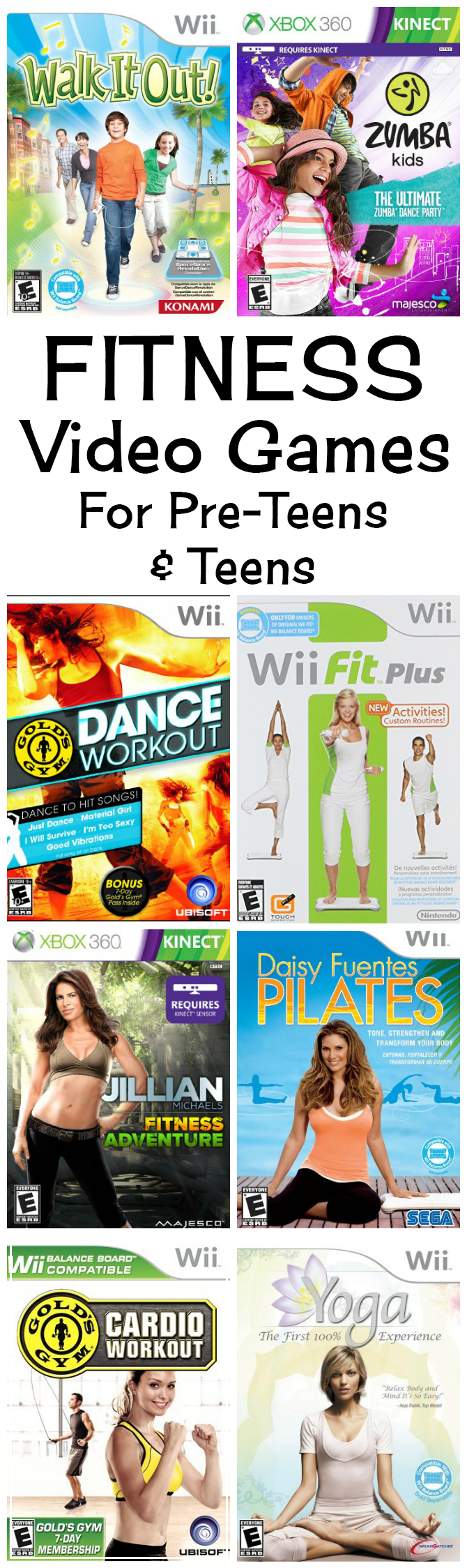 Best Fitness Video Games For Kids To Get Up And Get Moving ...