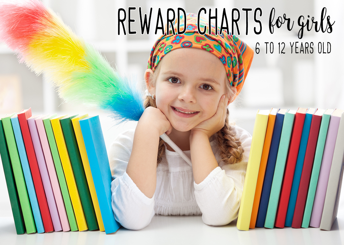 Printable Reward Charts For Kids 6 To 12 Years Old - Reward Charts, Behavior Charts, Homework Charts, Chore Charts And Punch Cards