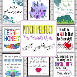 Free Printable Pitch Perfect Quotes