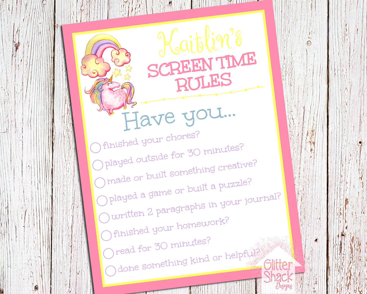 Screen Time Rules - Control Kids Screen Time